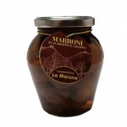 MARRONI SCIROPPO E GRAPPA 420g
